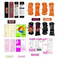【兰州创赢】印刷各种女装服装吊牌、吊卡 爆款特价 服饰吊牌