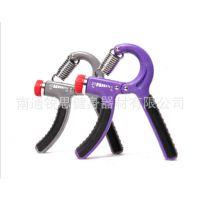 工厂直销握力器可调节专业健身握力计 橡胶圈柄手力器手指腕力器