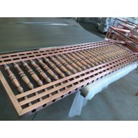 怀化不锈钢护栏 艺术不锈钢楼梯立柱 仿古红古铜不锈钢护栏