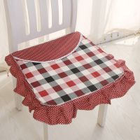 pp棉可拆洗椅子垫 防滑椅垫 酒店学生餐椅垫绑带涤纶椅子垫批发