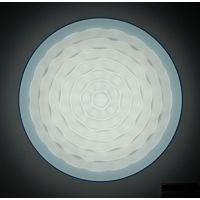 供应润丰 吸顶灯灯罩 亚克力LED灯罩 包框款-中波浪 可订做尺寸