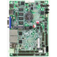 供应板载内存嵌入式无风扇6串口双网口3.5寸工业控制主板