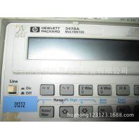 供应hp 3478a    multimeter万用表