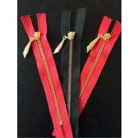 【双菱拉链】厂家直销3#金属Y牙 电镀黄金齿 服装门襟箱包拉链