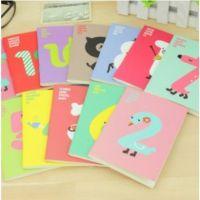 韩国版文具 可爱缤纷 幸运数字笔记本 记事本 小本子 练习本2c06