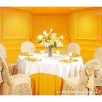 北京批发会议桌布婚礼椅套海淀酒店椅套厂家 欧式椅套 高档宴会套