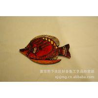桃木手工雕刻贴鱼系列   适合居家 酒店 茶楼 学校 墙面装饰