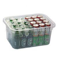 供应塑料冰桶啤酒桶 饮料箱收纳箱透明耐摔 酒店餐厅酒吧用品批发