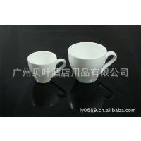 陶瓷富贵杯子 有耳茶杯酒杯 酒楼酒店陶瓷餐具用品直销批发
