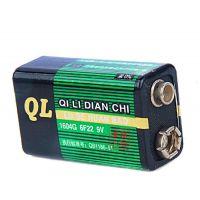 全国五金批发 双鹿牌 干电池一次性电池 遥控鼠标家庭套装   9v