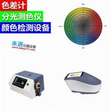 带有荧光特性的产品色差检测需使用NS800NS810分光测色仪