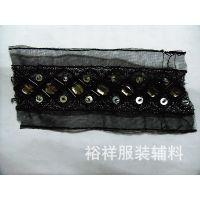 供应手工编织领花 时尚日韩假领  服装辅料围领 雪纺花边