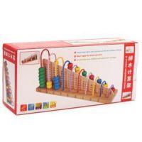 木丸子 品牌 早教益智玩具 学习计算架 玩具算盘 儿童木制