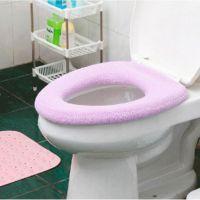 大马桶圈O型马桶坐垫马桶套 通用型坐便套多色 随机发色