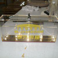 亚克力手机收纳盒 酒店KTV8格手机展示盒