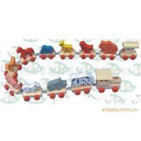 供应玩具火车 木制玩具火车 儿童玩具