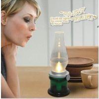 LED吹控怀旧灯 复古马灯吹控感应煤油灯蜡烛灯创意台灯