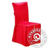 厂家批发 简约婚宴金玉良缘红色酒店餐厅婚礼椅子套 热卖