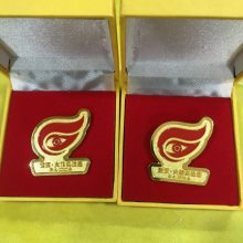 上海公司徽章定做,纪念徽章生产厂家,高档不锈钢名片盒