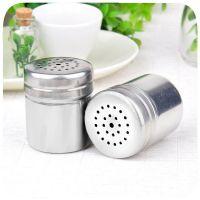 不锈钢调味罐 厨房味精罐 家用胡椒瓶 户外烧烤胡椒罐 金属调味瓶