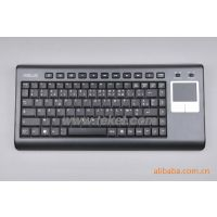 2.4G华硕无线键盘带触控板,带接收器,K8,法文,外贸公司专供