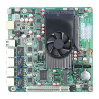 4网卡工控主板ZC-M254L支持网络唤醒 可用于网络监控 网络路由器