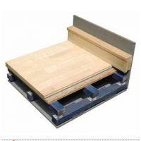 供应供应SJ结构体育馆木地板双层龙骨实木双拼面板