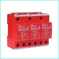 深雷电气SPD-I,标准I级试验电涌保护器 SL T1 3P,3P防雷器,TNC避雷器,深雷SPD