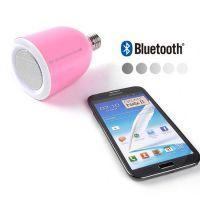 创意灯泡无线遥控调光多媒体节能灯音箱 LED灯蓝牙音箱可照明音响