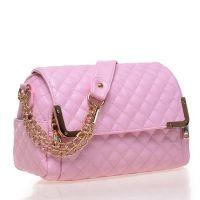 供应2014新款女包 欧美时尚菱格链条单肩包 双拉链包盖式斜跨女包包