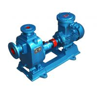 7.5KW自吸泵价格65ZW25-40分体式自吸式无堵塞排污泵