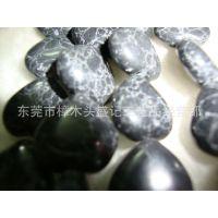 盛记宝石  10*10mm心形绿松石050# 饰品配件 宝石批发 天然宝石