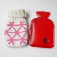 厂家直销批发供应优质自发热热水袋  暖手宝 带针织布套