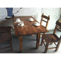 江西上饶,供应炭烧木,农家乐酒吧火锅饭店,公园园林餐桌椅!