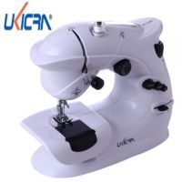 厂家销售多功能缝纫机縫紉機家用電動縫紉機迷你縫紉機403送电源