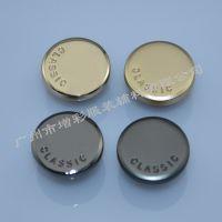 工厂支持混批浅金半光哑服装15mm电镀光叻光叻半光哑金属纽扣钮扣
