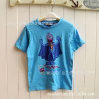 H家正品蓝色马戏团中大童T恤