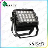 新款热卖20颗*18W 六合一LED投光灯/方型投光灯/户外亮化舞台灯