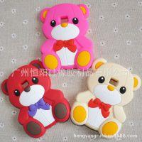 LGL3泰迪熊手机套 立体熊硅胶保护套 LG系列硅胶手机壳,L3泰迪熊