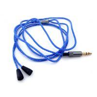 IE80耳机线材 无氧铜升级成品线材 重低音耳机线材 特价批发