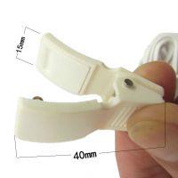 耳部理疗仪电极线耳夹线  睡眠器配件耳朵电子穴位针灸保健按摩线
