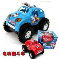 批发供应米奇电动翻斗车 会翻斗的玩具车 儿童电动玩具车