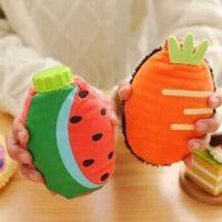 创意水果暖手宝 掌上迷你注水暖水壶小热水壶 卡通冲水暖手捂手壶