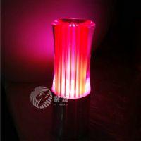 亚克力新颖发光装饰吧台灯 酒吧LED充电发光特色小夜灯 充电蜡烛灯