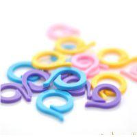 特价编织工具  彩色圈圈开口型 记数环 记号环  记针环  记号扣