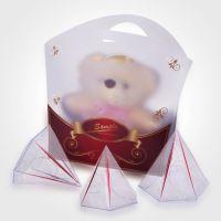 供应2014年新款PVC透明胶盒 高档礼品包装盒 PP折盒 透明塑料盒