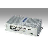 研华科技凌动嵌入式无风扇工控机箱多串网口ARK-3360F原装机整机