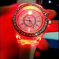 工厂专业定做生产来图任意定制时尚夜光LED发光手表