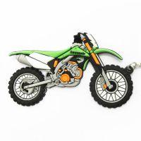 创意摩托车硅胶钥匙扣批发 摩托车配件 pvc软胶钥匙扣厂家定制