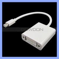 苹果MINI DP转DVI转接线 MINI DisplayPort to DVI 视频转换线